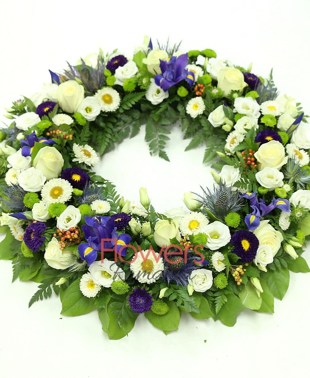 Livrare funeral wreath funeral wreath izmirmasajfo Gallery