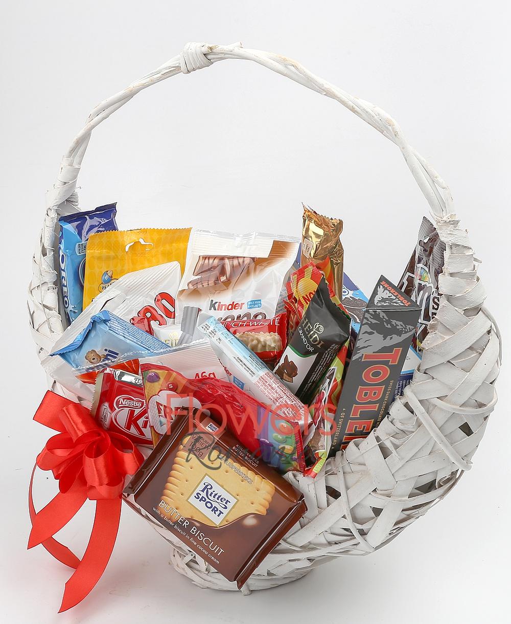 Chocolate Lover's Fine Basket