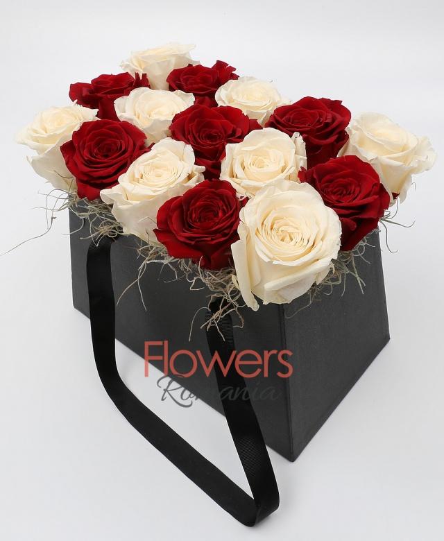 15 Cryogenic Roses in Elegant Box